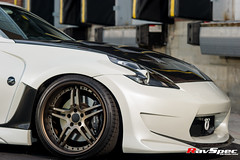 "WORK Gnosis GS2 (MHG) Nissan 370z • <a style=""font-size:0.8em;"" href=""http://www.flickr.com/photos/64399356@N08/15116909341/"" target=""_blank"">View on Flickr</a>"