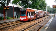 Kln (austrianpsycho) Tags: station train germany deutschland 1 cologne eisenbahn railway zug rails bahn gleise kvb haltestelle 4004 koln schienen kolnerverkehrsbetriebe stadtbahnkoln