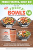 Free Drink with New Fresca Bowls at Del Taco (fabfastfood) Tags: chicken beans mexicanfood bowl blackbeans tortilla deltaco fresca limerice