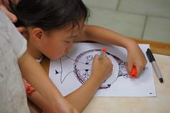 What painting?? 在畫什麼呢? (小賴賴的相簿) Tags: painting sony taiwan 1680 a55 畫畫 anlong77 小賴賴的家 小賴賴