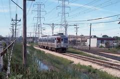 CTA 53 Skokie 8-2-85 (jsmatlak) Tags: chicago cta l elevated skokie skokieswift rapidtransit 5154