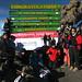 Team Kili Chang Chang at the summit (Mt. Kilimanjaro, Tanzania)