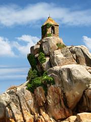 L'oratoire de Port-Blanc (Les 3 couleurs) Tags: brittany bretagne coastline rochers littoral côtesdarmor trégor portblanc