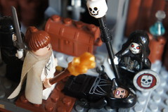Lego Fantasy Scenary - Dungeons & Dragons (Undead Campaign) (Marco Hazard - Knight of Ren) Tags: dice lego ruin dragons medieval fantasy undead dd mage treasures dungeons necromancer cleric