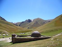 Tash Rabat (Cole Enabnit) Tags: road travel tourism silk adventure silkroad kyrgyzstan rabat tash naryn tashrabat