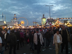Oktoberfest at nighttime!