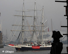 Lord Nelson at Royal Greenwich, London, Friday, Sept. 19, 2014. (olliepix) Tags: thames river sailing jubilee greenwich royal nelson lord trust sept 19 sts 2013