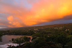 Sunset over Keauhou Bay :: Explored :: (Texas Prairiedog) Tags: