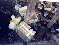 this trash causes flooding in bangkok! (the foreign photographer - ) Tags: trash thailand stuffed doll bangkok sony styrofoam khlong bangkhen thanon rx100 dscjun132015sony