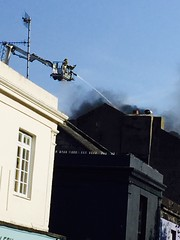 Argus loft fire Brighton #Brighton #Argus lifts #penthouse #fire #flames #fierce #smoke #black #red #devastating# devastation #firefighters #Brighton Lanes (karen_whitehead.t21) Tags: red black fire brighton fierce smoke flames penthouse firefighters argus devastating