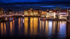 HDR long exposure Amsterdam CS square blue hour (Bart Ros) Tags: ifttt 500px amsterdam cs central station iloveamsterdam hdr long exposure pentax color colors colorful noord holland city cityscape water waterfront waterscape reflection reflections blue hour nederland nederlands gracht river sky drama beautiful beauty landscape landmark