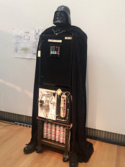 Tom Sachs (rocor) Tags: darthvaderfridgeandvodkafountain tomsachs budweiser