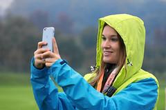 Hallwilerseelauf: Selfie vor dem Start