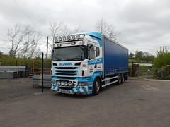 CA11 JGB - J&G Black Haulage Contractors Ltd Bathgate (Jonny1312) Tags: lorry kilrea portna londonderry scania fishfarm bathgate