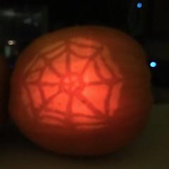 Grammie's Pumpkin (Brian Sawyer) Tags: pumpkin jackolantern grammie barb barbara