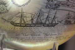 The Great Western (Benn Gunn Baker) Tags: benn gunn baker canon 550d t1i dorset dorchester museum the great western nautilus shell art picture paiting antique