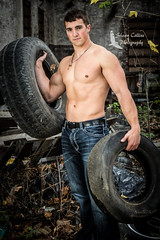 Model Tom (Shawn Collins Photography) Tags: model modeling male malemodel muscular muscle built fitness fitnessmodel bodybuilding arms abs chest shirtless handsome masculine tough motivation