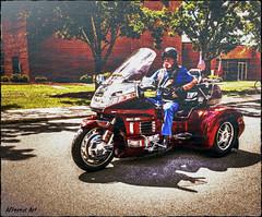 3-wheeler trike motorcycle (delmarvausa) Tags: southerndelawaware georgetowndelaware sussexcounty delaware sussexde delmarva travelingwall wallthatheals vietnamveterans memorial deltech georgetownde sussexcountyde georgetown motorcycle motorcycleescort motorcycleriders bikers trike 3wheeler