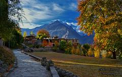 Mir Palace Hunza (Shehzaad Maroof Khan) Tags: hunza palace autumn morning sun karakoram garden path gilgitbaltistan nature pakistan