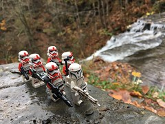 A show of force (kevinmboots77) Tags: lego legography starwars stormtroopers shocktroopers