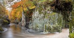 Rocks of Solitude II - Edzell - Scotland (Bill Higham) Tags: rocksofsolitude edzell scotland burn river stream autumn northeskriver longexposure