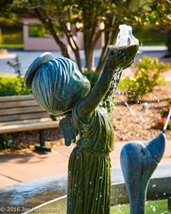 Water Feature Statues (Kuby!) Tags: kubitschek kuby nikon d810 october 2016 carthage missouri mo precious moments chapel gift shop displays