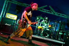 Oxygen Thief @ 2000 Trees Festival 2016 (dominicmeason) Tags: 2000treesfestival 2000 trees festival cheltenham gloucestershire england uk live british music upcote farm canon concert gig oxygen thief