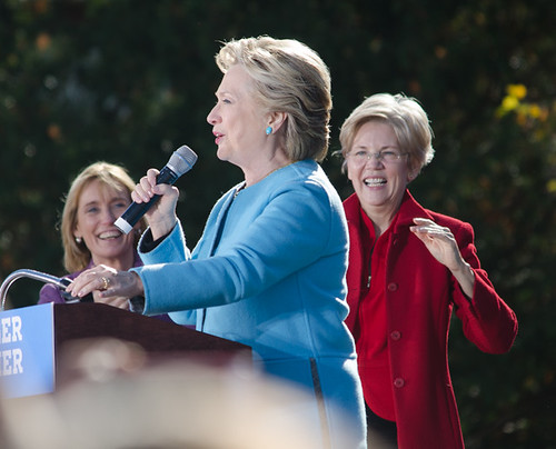 Hillary Clinton by Tim Pierce, on Flickr