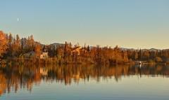 Fall At The Lake (jack4pics) Tags: alaska fall lake plane