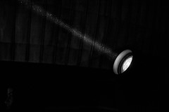Pure magic (lorenzoviolone) Tags: agfascala200 bw blackwhite blackandwhite d5200 dslr dark monochrome nikon nikond5200 redcarpet reflex romaff11 spot vsco vscofilm auditorium auditoriumparcodellamusica darkness dust filmfest light streetphoto streetphotobw streetphotography roma lazio italy