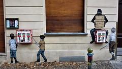 Levalet / Berlin - 22 nov 2016 (Ferdinand 'Ferre' Feys) Tags: deutschland germany berlin streetart artdelarue graffitiart graffiti graff urbanart urbanarte arteurbano levalet pasteup wheatpaste