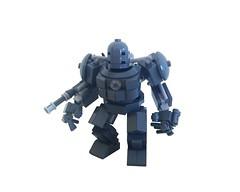 Iron Monger (Lego Skeleton) Tags: lego iron monger mech
