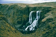 Fragifoss (Nils van Rooijen) Tags: fagrifoss iceland ijsland waterfall landscape travel water river scenery outdoor laki kirkjubjarklaustur highland highlands nikon