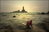 Puja.  Kanyakumari (Claire Pismont) Tags: puja kanyakumari comorin cape tamilnadu hinduism hindouisme hindu pismont clairepismont sunrise sunset travel travelphotography documentory asie asia inde india indedusud indian island vivekananda