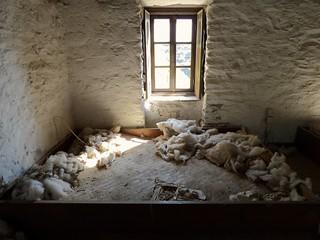 Une chambre située à l'étage