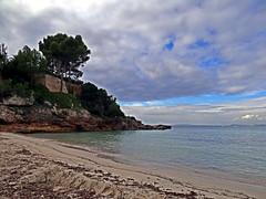 Cala Blava (Cala Mosques), Mallorca, Spanien (Anne O.) Tags: 2015 balearischeinseln illesbalears sarenal spanien panoramio6954847125611389