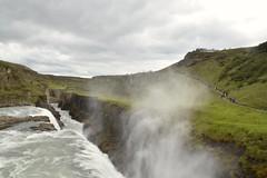 Gullfoss Waterfalls (EC@PhotoAlbum) Tags: iceland islanda gullfosswaterfall gullfoss cascata fantasticnature nature landscape goldencircleiceland goldencircle cerchiodoro