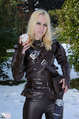 Sweet Roll - Skyrim cosplay (DrosselTira) Tags: vex skyrim cosplay cosplayer tes tesv v 5 elder scrolls thief thieves guild armor armour leather stealth master guildmaster costume outfit set bethesda game games videogame videogames riften