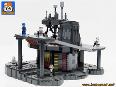 BESPIN CARBON FREEZE CHAMBER 2 (baronsat) Tags: lego freeze chamber carbonite bespin cloud city kenner micro collection custom model
