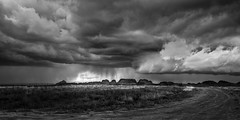 Storm Clouds II (Sandra Herber) Tags: newmexico shiprock