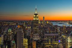 NYC Sunset (CraigGoodwin2) Tags: top rock topoftherock nyc manhattan new york