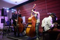 Jeff Hamilton workshop trios at 2016 Jazz Port Townsend (Centrum Foundation) Tags: benfeldman benjaminmoser centrum cottonbuilding domobranch jamesaddis jazz jeffhamilton lilianwu paulcornish porttownsend thursday combo encore trio workshop wa usa