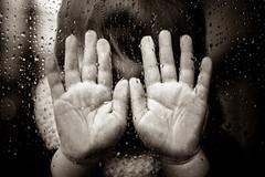 No! (Zeeyolq Photography) Tags: child coucou games hands hidden hide innocence mains no rain rainyday stop window winter france