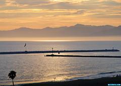 MDRHarborView (mcshots) Tags: usa california socal losangelescounty summer sunset coast sky clouds hot humid evening sun 2015 stock mcshots