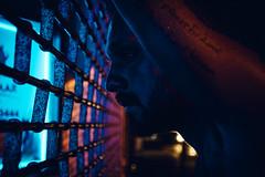 @FYABRIANSCOTT (fya_brianscott) Tags: night street feeling mood portrait urban nikon time low light bright colors blue man greg color 42