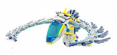 Viper (Milan Sekiz) Tags: lego space viper shape blue yellow gray quake