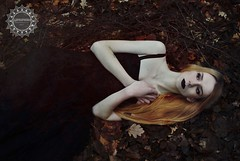 Fox's Dream (lophophora_art) Tags: autumn photography photosession forest girl redhair fox lophophora art goth alternative