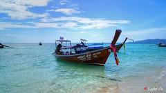 Thailand's Boat (Ld\/) Tags: thailande thailand boat bteau bateau phi pee island ile sea mer dream