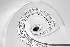 Treppe (michel1276) Tags: treppe treppenhaus treppenauge rund einfarbig monochrome kreis architektur architecture berlin deutschland germany canon 1022 7dwf