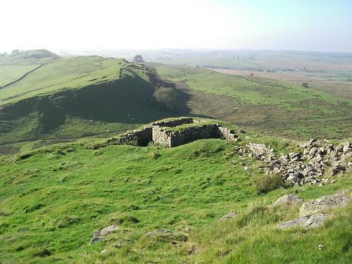 Hadrian's Wall & turret 44B.